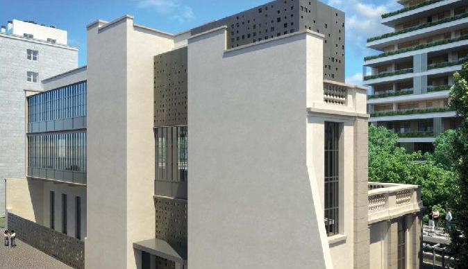 """restauro """"Casa degli Artisti"""""""